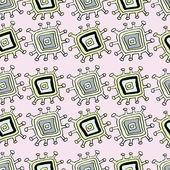 Abstrakcyjny wzór różowy — Wektor stockowy