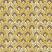 Golden scale pattern — Stock Vector