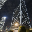 Bank of China at night — Stock Photo