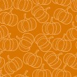 Pumpkin background — Imagen vectorial