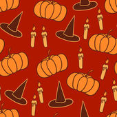 Orange halloween background — Stock vektor