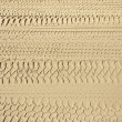 4x4 tyre tracks - Stock Photo