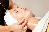 Beauty treatment, facial — Stock Photo