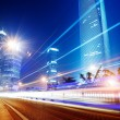 Light trails — Stock Photo #15325429