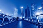 шанхай небоскребы — Стоковое фото