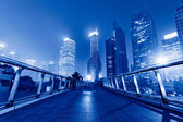 Shanghai skyscrapers — Stock Photo