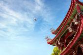China antike gebäude lokale — Stockfoto