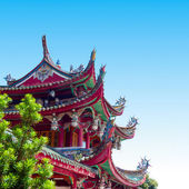 čína starobylé budovy místní — Stock fotografie
