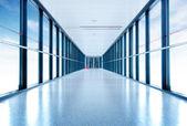 Internat korridor — Stockfoto