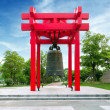 Chinese Antiquities: bell — Stock Photo