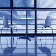 Large windows in the office — Stock Photo #17623087