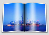 The Bund in Shanghai — Foto Stock