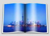 O bund em Xangai — Fotografia Stock