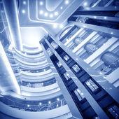 интерьер современной архитектуры: лифт — Стоковое фото