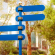 signpost — Stock Photo