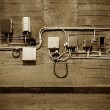 Old electrical equipment — Stock Photo