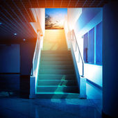Stairway to the sky — Stock Photo