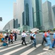 Stock Photo: Shanghai street and pedestrian