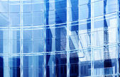 Glass curtain wall — Stock Photo