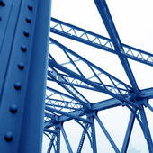 Solives de support de pont — Photo