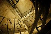 Escaleras de caracol — Foto de Stock
