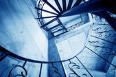 Spiral stairs — Stockfoto