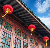 Chinese ancient buildings — Stok fotoğraf