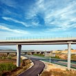 Highway and viaduct — Stock Photo