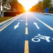 Stock Photo: Bicycle path