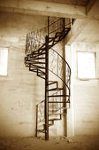Spiral stairs — Foto Stock