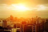 Twilight of the city — Stock Photo