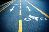 Bicycle path — Fotografia Stock