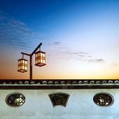 Chinese classical architectural elements — Stock Photo