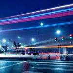 Viaduct night scene — Stock Photo #20026889
