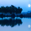 Lake of the night — Stock Photo