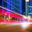 Light trails — Stockfoto