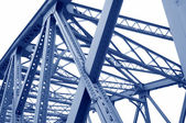 мост поддержки балок — Стоковое фото
