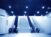Shanghai u-Bahn-Station der Halle — Stockfoto