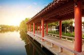 Chinese classical gardens — Stock Photo