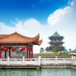Of classical Chinese architecture — Stock Photo