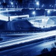 Royalty-Free Stock Photo: Highway light trails