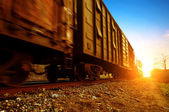 Freight train — Fotografia Stock
