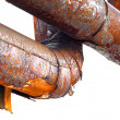 Rusty pipe — Stock Photo