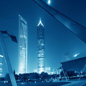 Shanghai skyscrapers — Foto Stock