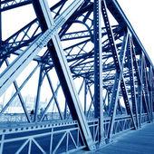 Mostní nosníky podpory — Stock fotografie