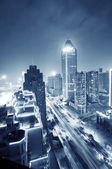 Shanghai natt — Stockfoto