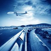 Letiště — Stock fotografie