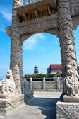 Yantai, China's classical architecture — Stock Photo