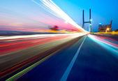 Köprü ve hafif rotalar — Stok fotoğraf
