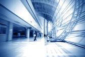 Corridor of modern architecture — Stock Photo